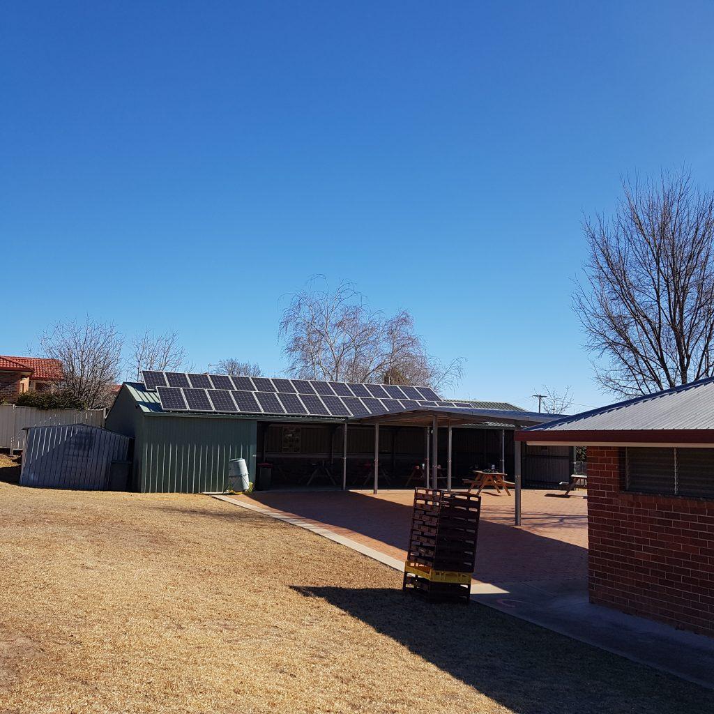 Solar panels at St Josephs School