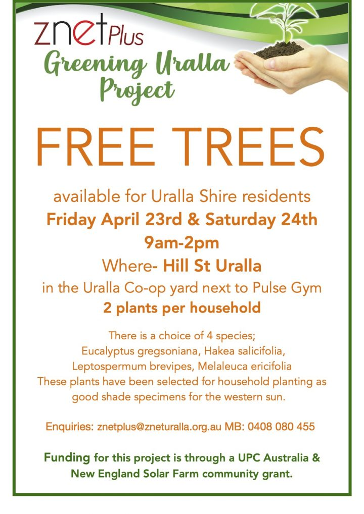 Free trees available at two-day giveaway